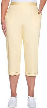Alfred Dunner Charleston High Waisted Capris