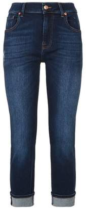 7 For All Mankind Relaxed Skinny Slim Illusion Jeans