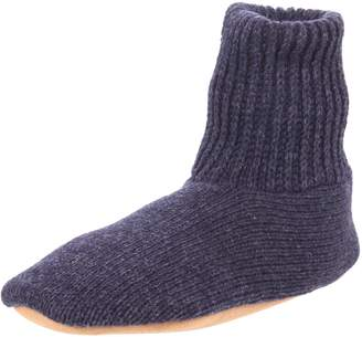 Muk Luks Men's Ragg Wool Slipper Sock