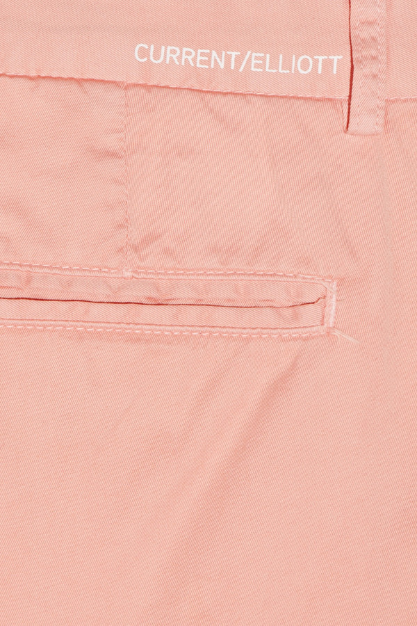 Current/Elliott The Captain cropped cotton-twill chinos