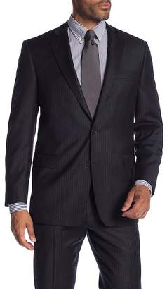 Brooks Brothers Charcoal Pinstripe Classic Fit Suit Separates Jacket