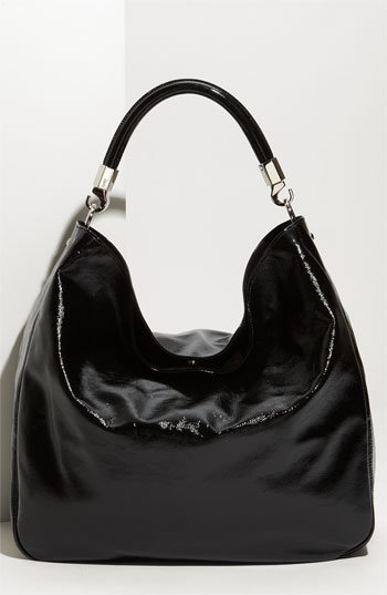 Yves Saint Laurent 'Roady - Large' Patent Leather Hobo