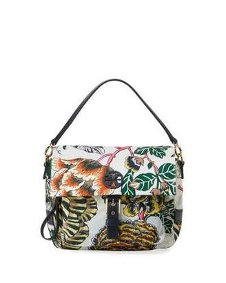 Tory Burch Tilda Printed Nylon Crossbody Bag