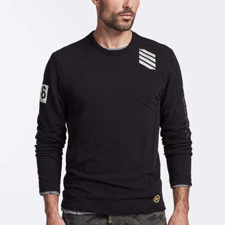 James Perse Y/OSEMITE JERSEY GRAPHIC CREW