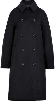 MACKINTOSH Black Wool & Cashmere Double Breasted Coat LM-087F