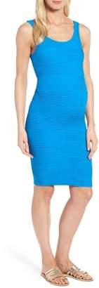 Tees by Tina Textured Tank Maternity Dress