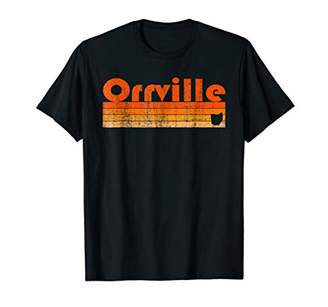 Retro 80s Style Orrville OH T-Shirt
