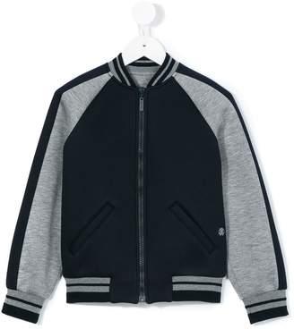 Roberto Cavalli printed full zip sweatshirt