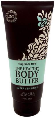 LAVANILA Women's 6.7Oz Super Sensitive Fragrance-Free Body Butter