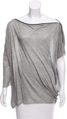 Yigal Azrouel Long Sleeve Knit Top