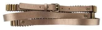 Celine Metallic Wrap Belt