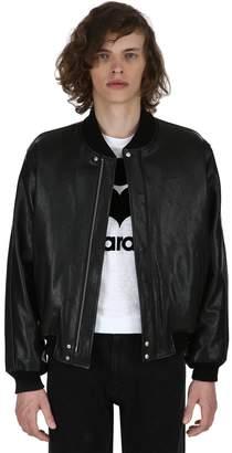 Isabel Marant Blair Leather Bomber Jacket