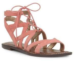 Sam Edelman Gemma Lace-Up Leather Sandals