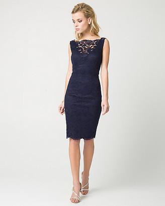 63983344bc2b Le Château Lace Illusion Cocktail Dress