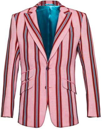 Koy Clothing - Pink Striped Blazer Gusii
