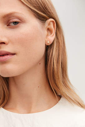 Cos CUBE STUD EARRINGS
