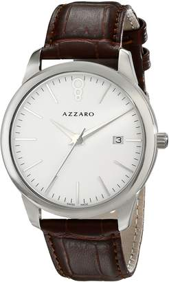 Azzaro Men's AZ2040.12AH.000 Legend Analog Display Swiss Quartz Brown Watch