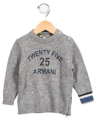 Armani Junior Boys' Wool-Blend Sweater