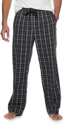 Croft & Barrow Men's Plaid Stretch Woven Lounge Pants
