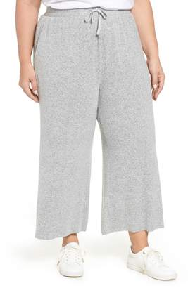 BP Wide Leg Knit Crop Pants