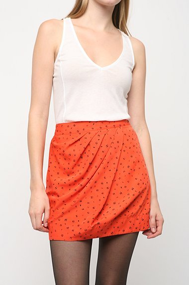 Ecote Geo Wrap Skirt