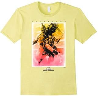 Marvel Thor Ragnarok Tropical Gradient Hulk Poster T-Shirt