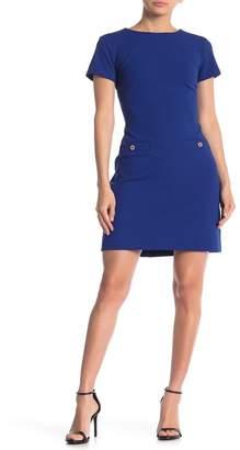 Tommy Hilfiger Crew Neck Short Sleeve Dress