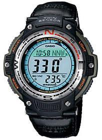 Casio Men's Digital Compass Twin Sensor Nylon B