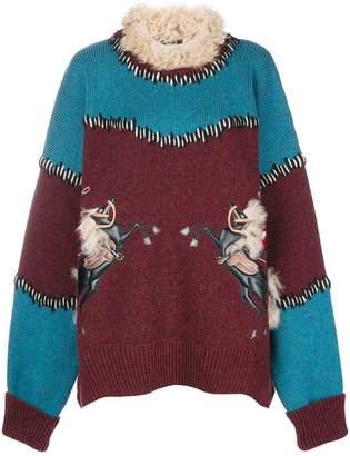 DSQUARED2 oversized jumper