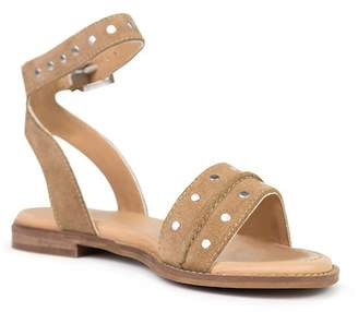 Crevo Mira Stud Accent Ankle Strap Sandal