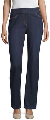 Liz Claiborne Comfort Fit Pull On Pant- Plus