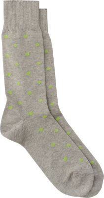 Barneys New York Dotted Mid-Calf Socks