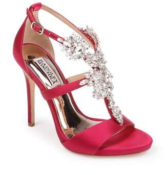 Badgley Mischka Collection Leah Embellished Sandal