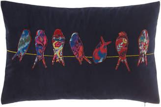 Design Source Bird Applique Pillow