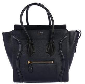 Celine Mini Luggage Tote w/ Tags