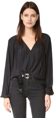 Ramy Brook London Blouse $325 thestylecure.com