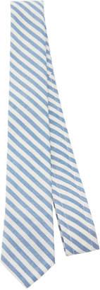 Thom Browne Striped Wool-Blend Tie
