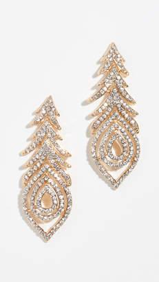 Stella + Ruby Peacock Earrings