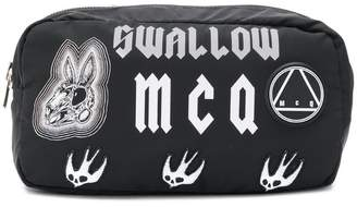 McQ printed wash bag