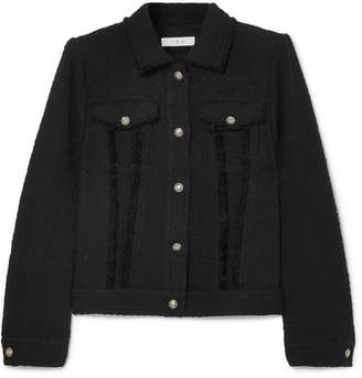 IRO Paloma Cotton-tweed Jacket - Black