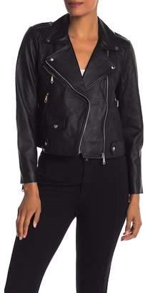 Rebecca Minkoff Wes Leather Moto Jacket