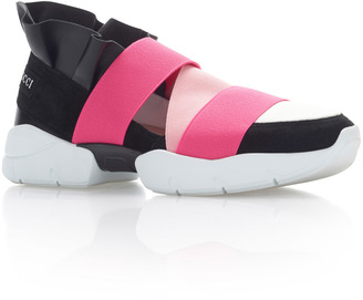Emilio Pucci Ruffle Sneakers $525 thestylecure.com
