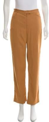 Rachel Comey Mid-Rise Straight-Leg Pants