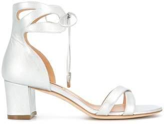 Racine Carree tied block heel sandals