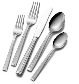 Mikasa 65 Piece Flatware Set with Caddy, Service for 12