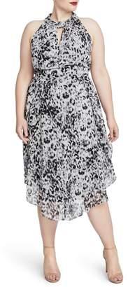 Rachel Roy Chiffon Midi Dress
