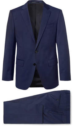 HUGO BOSS Navy Huge/Genius Slim-Fit Super 120s Virgin Wool Suit - Men - Navy