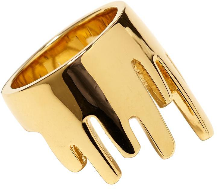Marc by Marc Jacobs Drippy Metal Ring
