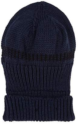 Inis Meain Men's Dash-Knit Baby Alpaca-Silk Hat