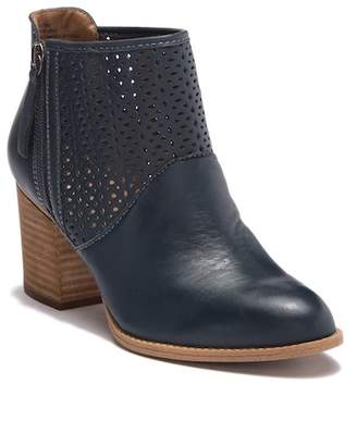 Sofft Westley Perforated Leather Ankle Bootie